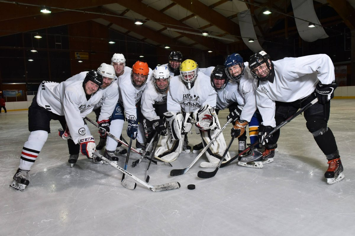 Eishockey Training